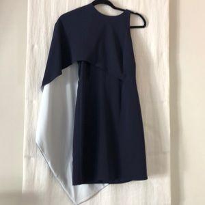 Halston heritage navy dress